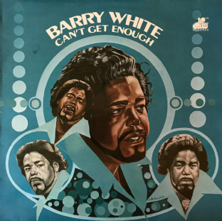 Barry White ‎- Can't Get Enough  (LP) (VG-/VG)